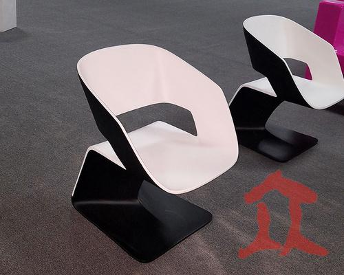 玻璃钢高档商场休闲椅