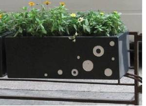 玻璃钢方形个性花盆