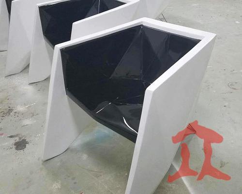 玻璃钢单个休闲椅