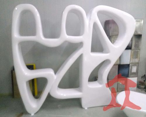 玻璃钢置物架定制