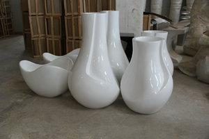 玻璃钢古典花盆造型