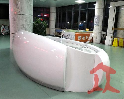 惠州玻璃钢前台