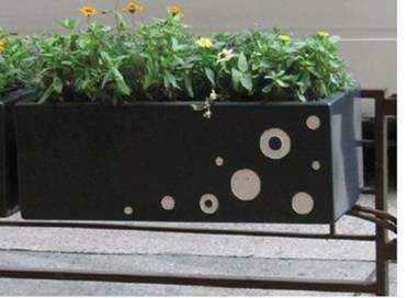 990990方形个性花盆