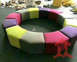 990990菱形组合休闲椅