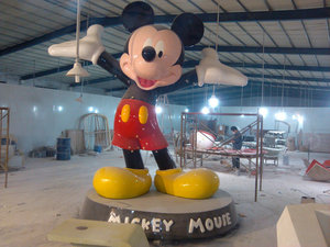 990990大型米老鼠造型