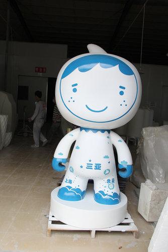 990990雕塑吉祥娃娃